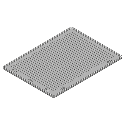 Grill and Pizza Tray (400 x 600mm, Bakery Standard)