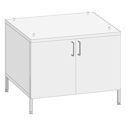 Base Cabinet UGII Catering for models 62 and 102