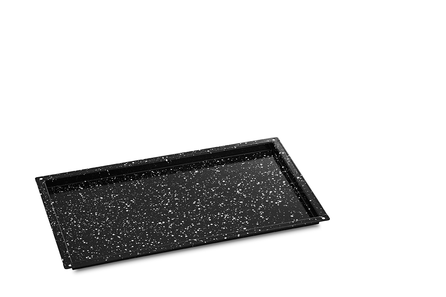Granite Enamelled Tray 1/1GN 20mm deep
