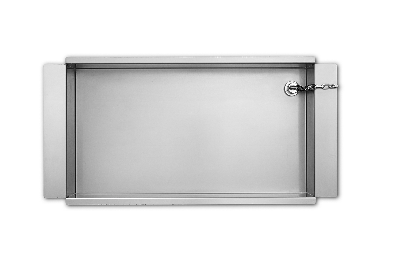 Grease Drip Tray for 6.10 10.10 and 20.10 ovens