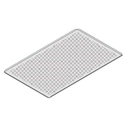 Perforated Baking Tray, Bakery Standard (400 x 600mm)