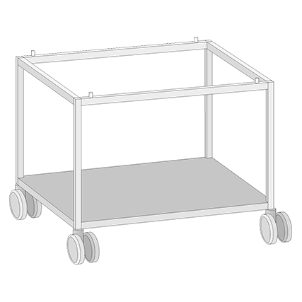 UGI Open Mobile Stand for Models 61 and 101