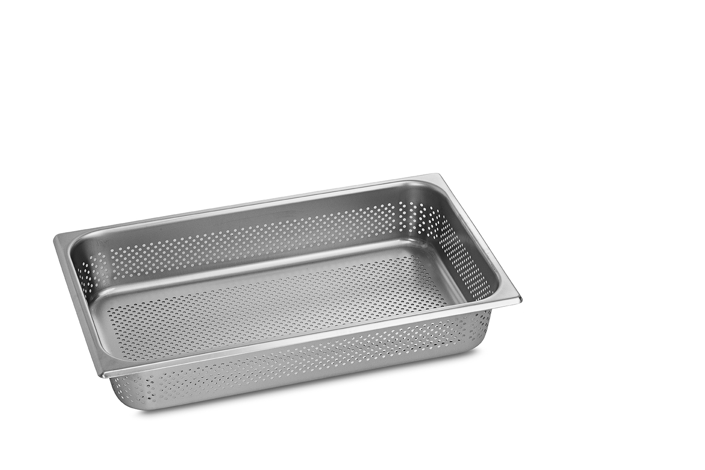 Stainless Steel Perforated Pan 1/1GN 100mm deep