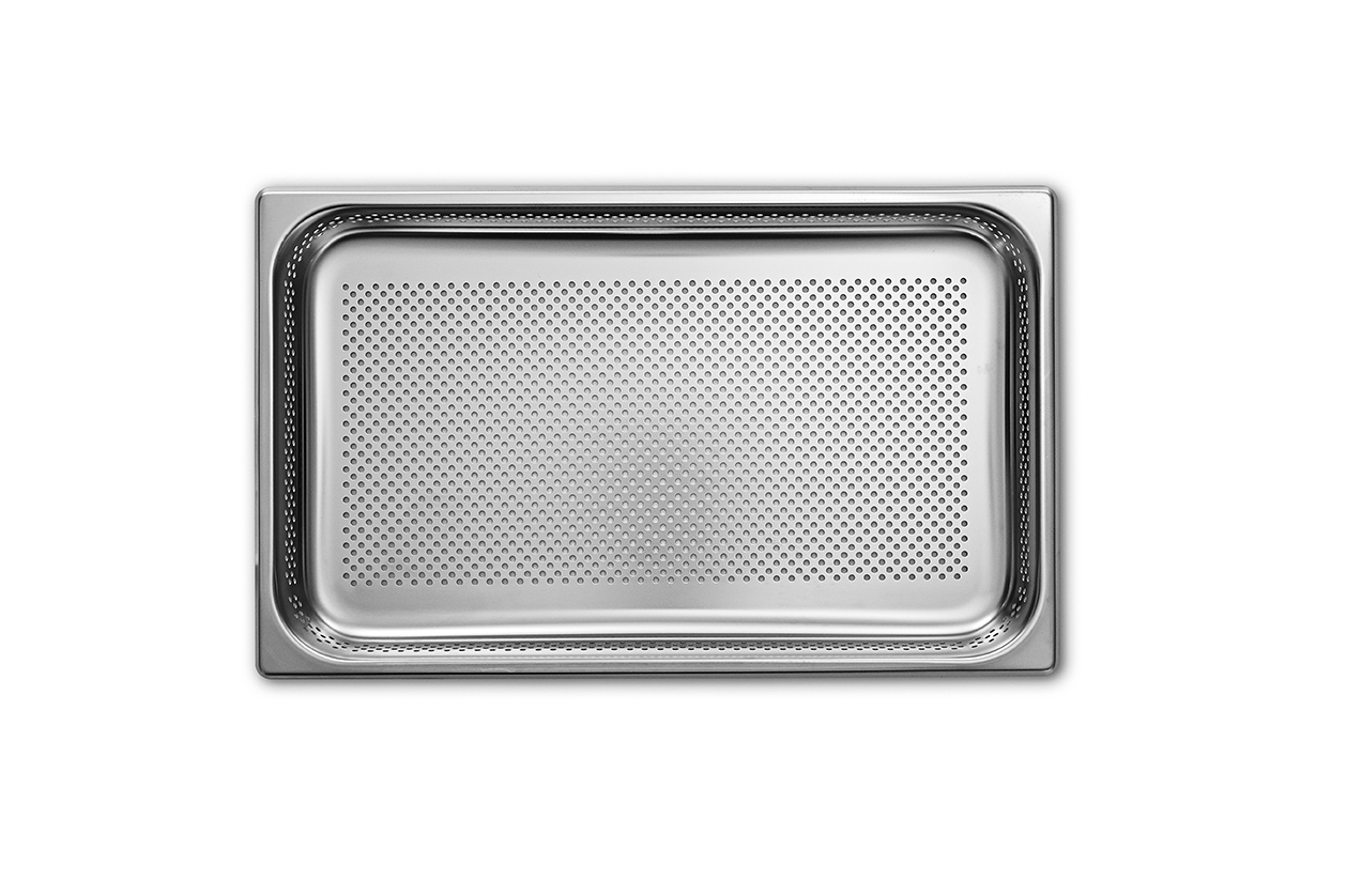 Stainless Steel Perforated Pan 2/3GN 40mm deep